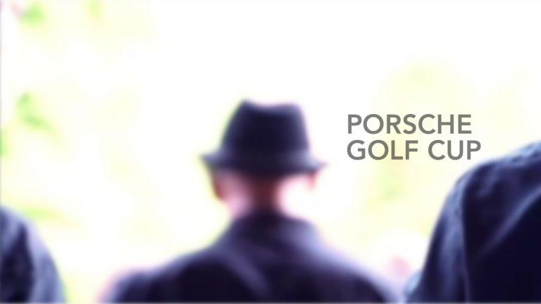 Mojo Pin beim Porsche Golf Cup